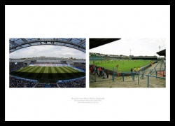 Brighton & Hove Albion Stadiums Old and New Photo Memorabilia