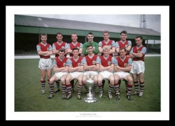Burnley 1960 League Champions Team Photo Memorabilia