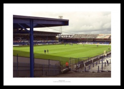 Cardiff City Ninian Park Historic Old Stadium Photo Memorabilia