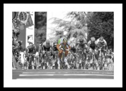 Mark Cavendish Spot Colour Photo