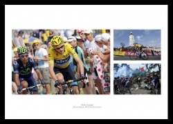 Chris Froome 2013 Tour de France Mont Ventoux Photo Memorabilia