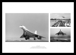 Concorde First & Last Flights Montage Aviation Photo
