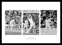 Ian Botham England Cricket Legend Photo Memorabilia