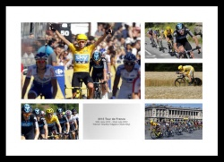 Bradley Wiggins 2012 Tour de France Photo Memorabilia