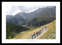Chris Froome French Alps 2015 Tour de France Photo Memorabilia