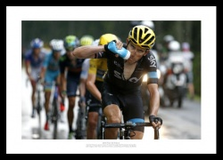 Geraint Thomas 2015 Tour de France Photo Memorabilia