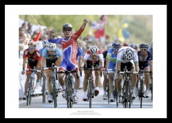 Mark Cavendish 2011 World Road Race Champion Photo Memorabilia