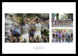 Mark Cavendish Photo Memorabilia Montage