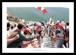 Miguel Indurain Last Tour de France 1996 Photo Memorabilia