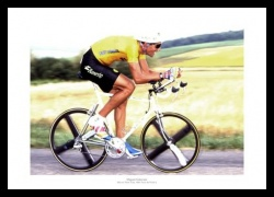 Miguel Indurain 1991 Tour de France Photo Memorabilia