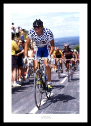 Stephen Roche 1990 Tour de Britain Cycling Photo Memorabilia