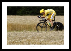 Bradley Wiggins 2012 Tour de France Time Trial Photo Memorabilia