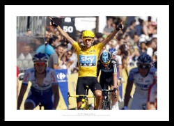 Bradley Wiggins Wins 2012 Tour de France Photo Memorabilia
