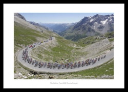 The Galibier Pass Tour de France  Photo Memorabilia