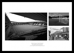 Derby County Stadiums Past and Present Photo Memorabilia