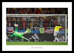 Jordan Pickford Save England v Columbia 2018 World Cup Photo Memorabilia