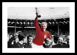 England 1966 World Cup Final Spot Colour Photo Memorabilia