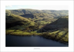 Lake District Glencoyne Park & Ullswater Aerial Landscape Photograph