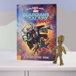 Personalised Marvel Guardians of the Galaxy 2 Story Book
