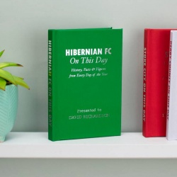 Personalised Hibernian FC 'On This Day' Book