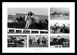 Legends of National Hunt Horse Racing Photo Memorabilia