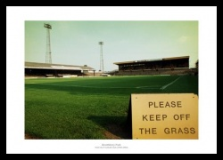 Hull City Boothferry Park Stadium Historic Photo Memorabilia