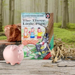 Personalised Three Little Pigs Ladybird Classics Book