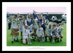 Leeds United 1992 Division One Champions Photo Memorabilia