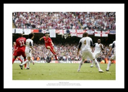 Steven Gerrard 2006 FA Cup Final Photo Memorabilia