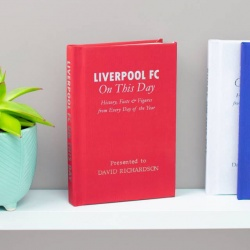 Personalised Liverpool 'On This Day' Book