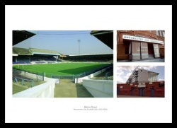 Manchester City Maine Road Stadium Photo Memorabilia