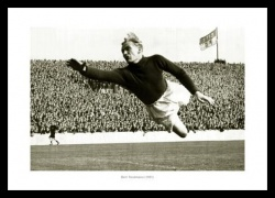 Manchester City Legend Bert Trautmann Photo Memorabilia