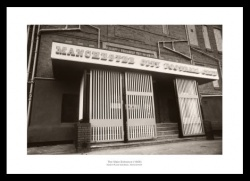 Manchester City Maine Road Entrance 1969 Photo Memorabilia