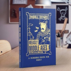 Personalised Horrible Histories Measly Middle Ages Book
