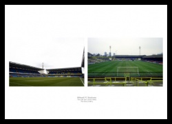 Millwall FC The Den Stadiums Old and New Photo Memorabilia
