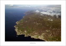 Mull of Kintyre Scotland Aerial Landscape Photograph