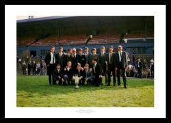 Newcastle United 1969 Fairs Cup Winning Team Photo Memorabilia