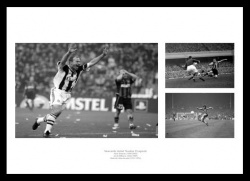 Newcastle United  Number 9 Legends Photo Memorabilia