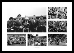 Nottingham Forest The Brian Clough Years Photo Memorabilia