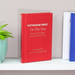 Personalised Nottingham Forest 'On This Day' Book