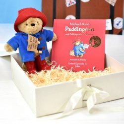Personalised Paddington Bear Book & Soft Toy Gift Set