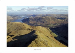 Lake District Patterdale Common & Grisedale Aerial Landscape Photograph