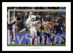 Real Madrid 2014 Champions League Final Ramos Goal Photo Memorabilia