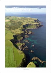 Red Bay, Northern Ireland Aerial Landscape Photograph