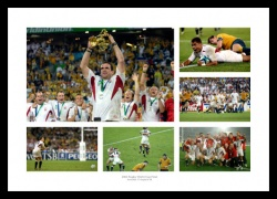 England Rugby Team 2003 World Cup Final Photo Memorabilia Montage