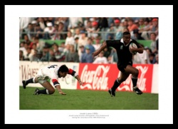 Jonah Lomu 1995 Rugby World Cup Photo Memorabilia