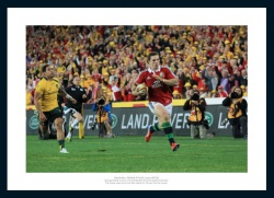 George North British & Irish Lions Australia 2013 Tour Photo Memorabilia