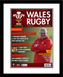 Wales Rugby Personalised Official Magazine Cover