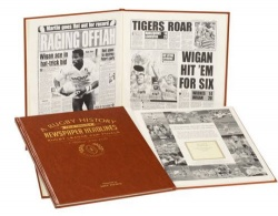 Personalised Challenge Cup Finals Historic Newspaper Memorabilia Book