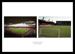 Southampton FC Stadiums Old and New Photo Memorabilia